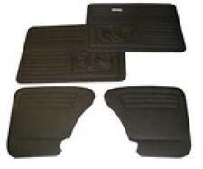 VW Beetle Door Panels / Cards / Trim Set SET 4 Black With Pockets 1965-79 T1 Bug