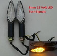 Motorcycle Turn Signals 12 Volt LED Front or Rear Replacement Moped SCOOTER