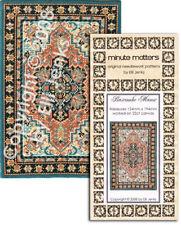 Cross Stitch or Needlepoint Miniature Rug Carpet Pattern - Bascombe Manor