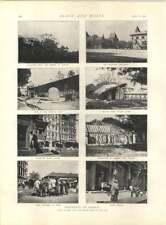 1897 entrevista jb Dunlop Neumáticos Bombay plaga escenas