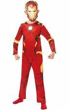 Iron Man Marvel Boy's Fancy Dress Costume