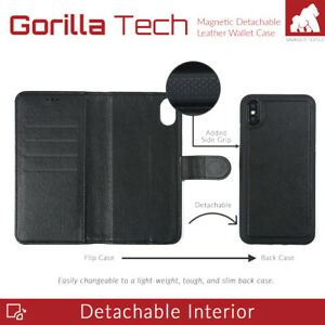 Gorilla Tech Apple iPhone 7 Plus iPhone 8 Plus Leather Case and 2 Tempered Glass