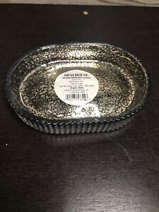 OpalHouse Oval Silver Mercury Glass Hand Soap Dish From Target