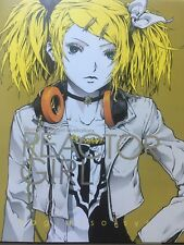 Hatsune Miku Vocaloid Kagamine Rin Reactor Girl Art Illustrations (BOOK + DVD)