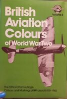 BRITISH AVIATION COLOURS OF WORLD WAR TWO,  VOLUME 3,  VINTAGE !!! 1976