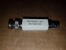 Tektronix 011-0103-02 75 Ohm Termination 3V Rms Bnc(m-f) Oscilloscope Adapter