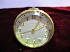 VTG Tiffany & Co 8 Day Clock circa 1930's Alarm 15 Jewels Swiss Concord Watch Co
