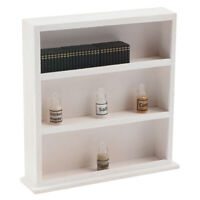 1:12 Dollhouse Miniature Wooden Display Cabinet Lockers Model Accessories Toy YK