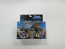 2003 MUSCLE MACHINES JESSE JAMES 1:18 SCALE WEST COAST CHOPPERS MOTORCYCLE NIB