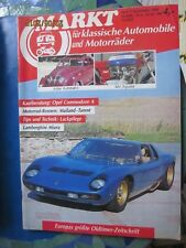 Markt für klassische Automobile Heft 9 September 1988