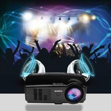 Projector, WIMIUS T4 HD LED Video Projector Multimedia Home 2 HDMI, 720P HD...