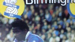 Birmingham City v Manchester United - 15 January 1983