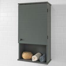 SoBuy Hängeschrank mit Einer Tür und einem Fach Wandschrank Badmöbel BZR25-DG