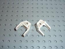 2 x Attache Aimant LEGO white Magnet Holder ref 2607 / Set 6982 6854 6958