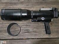 Novoflex Tele-Objektiv Schnellschussobjektiv Noflexar 5,6/400mm mit Balgen