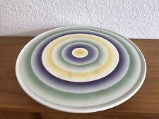 Wächtersbach Art Deco Tortenplatte Spritzdekor 30er Jahre Design Cake Plate