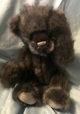 Charlie Bears Puggles Plush Toy Nwt 17""