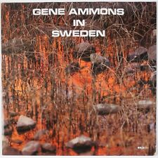 GENE AMMONS: In Sweden ENJA Germany Jazz LP Horace Parlan NM- Wax
