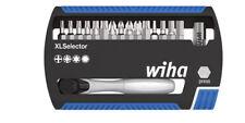 """wiha XLSelector Torsion  gemischt  mit Bitratsche 1/4""""  17tlg.  7948-043"""
