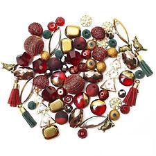 (1 pkg) Jesse James Design Elements Bead Mix: Christmas Tis the Season JJXDE-TTS