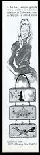 1968 Enid Collins skunk turtle roadrunner box purse handbag vintage print ad
