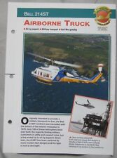 Aircraft of the World Card 56 , Group 8 - Bell 214ST