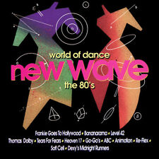 World of Dance: New Wave-The 80's by Various Artists (CD, Mar-1996, Rebound Reco