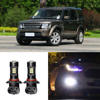 2x Canbus H11 3030 21SMD LED DRL Daytime Running Fog Light Bulbs For Discovery 4
