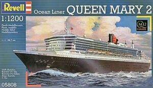 Revell 05808 Ocean liner Queen Mary 2 1/1200 plastic model passenger ship kit