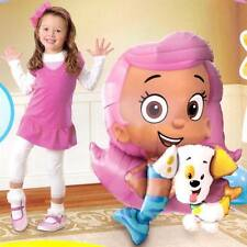 "NEW Bubble Guppies 39"" 3D JUMBO AIRWALKER PARTY FOIL BALLOON PARTY SUPPLIES DECO"