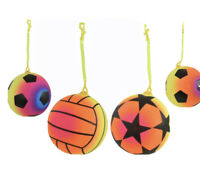 20x Inflatable Ball With Keychain Football Kids Beach Garden Party Toy Wholesale