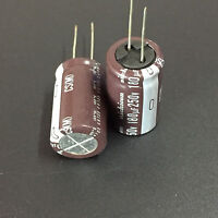 3pcs 180UF 250V Nichicon CS 18X30mm 250V180UF Miniature Electrolytic Capacitor