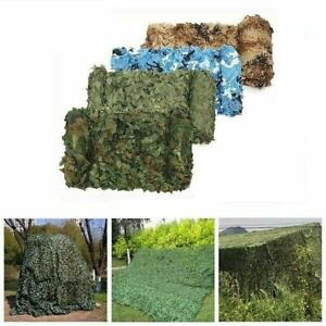 3X4M Hunting Military Camouflage Sun Shelter Woodland Army Camo Camping net
