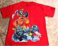 SKYLANDERS Spyro's Adventure Glow Red Graphic T-Shirt sz L-14/16