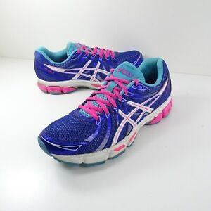 Women Asics Gel Exalt Running Athletic Shoes Size 9 Purple Pink T379N