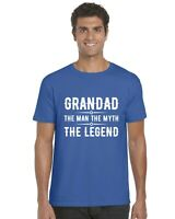 Grandad The Man The Myth The Legend Adults T-Shirt Tee Top