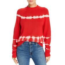 The East Order Womens Tye-Dye Crewneck Shirt Sweater Top BHFO 2314