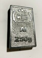 Cast Aluminium Ingots 250g 500g or 1kg