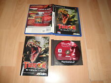 TUROK EVOLUTION DE ACCLAIM PARA LA SONY 2 PS2 CON CARATULA HOLOGRAFICA USADO