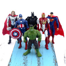 6x Marvel Heroes The Avengers Figures Toy Cake Topper Display Figures Decor Gift
