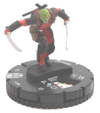 Heroclix Deadpool/X-Force #038b, 023b, 016, 004b  Deadpool Corps Lot