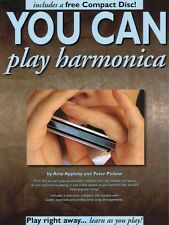 You Can Play Harmonica Book and Cd New 014036514
