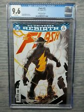 CGC Graded 9.6 Flash #22 DC Comics 2017 Porter Variant