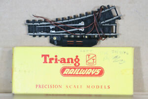 TRIANG T162 TT GAUGE MARK 2 ELECTRIC LEFT HAND POINT BOXED oa