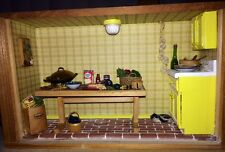 Small Kitchen Room Box 1:12 Scale OOAK!