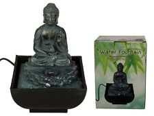 Sitting Buddha Table Water Fountain - Tranquil Indoor Relax - Gift