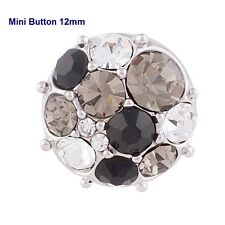 Click Button Mini Petite S5555 Kristall - kompatibel mit Chunks-Systemen 12mm