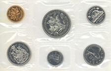 Canada 1970 Proof Like PL Coin Set UNC No COA No Envelope