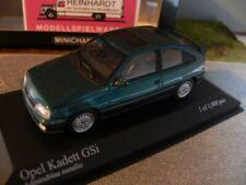 1/43 Minichamps Opel Kadett GSi 1989 admiralblau-metallic 400 045971