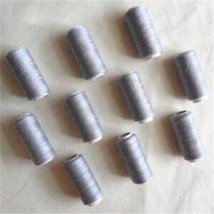 2PCS 200 Yards Sewing Threads 100% Polyester Yarn DIY Crafts for Hand Machines